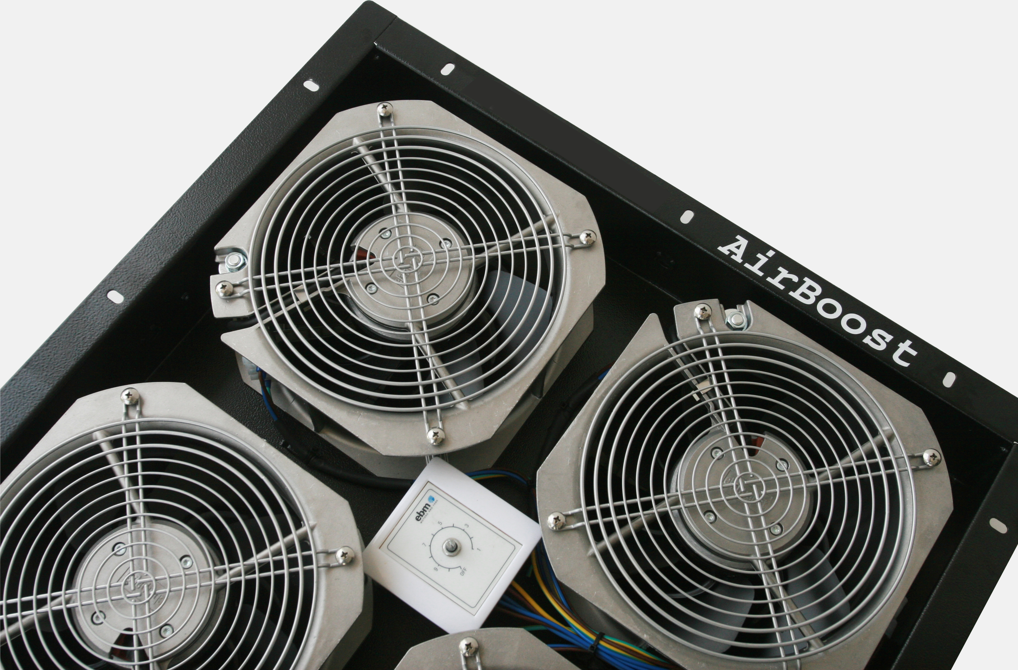 AirBoost Under Floor Fan System