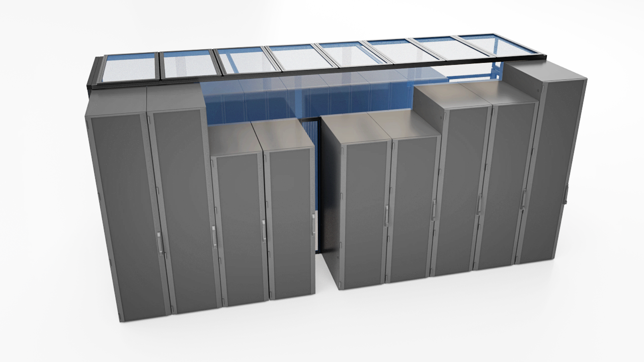 Aisle-Containment-Server-Ceiling-Panel-System