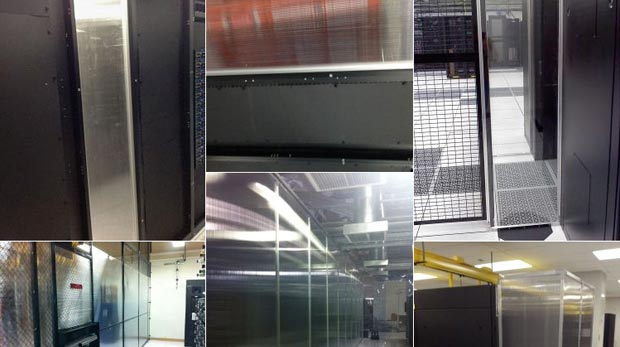 Containment Panel Walls Image Gallery