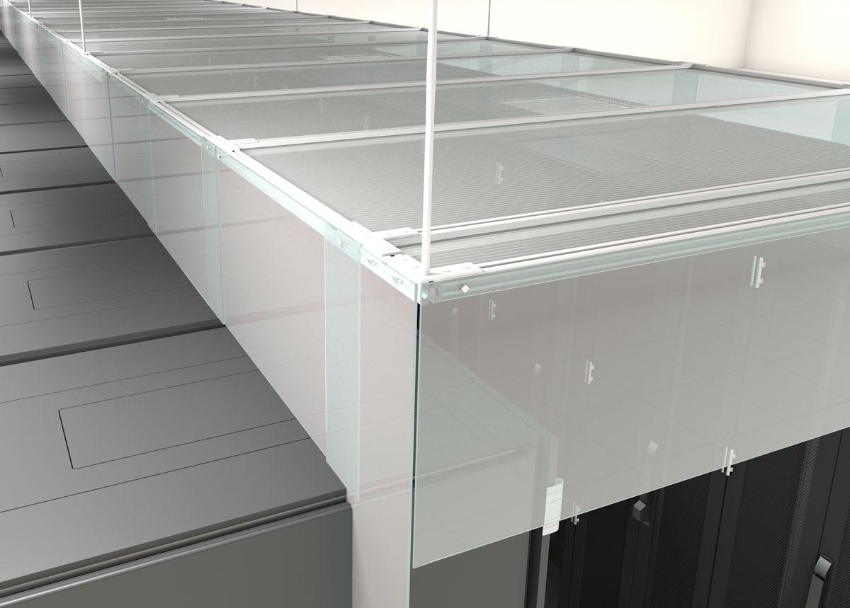 Flexible Strip Aisle Containment Curtains