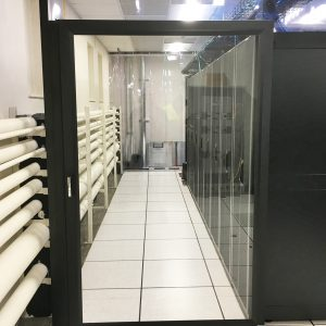 Cool Shield Single Sliding Containment Door