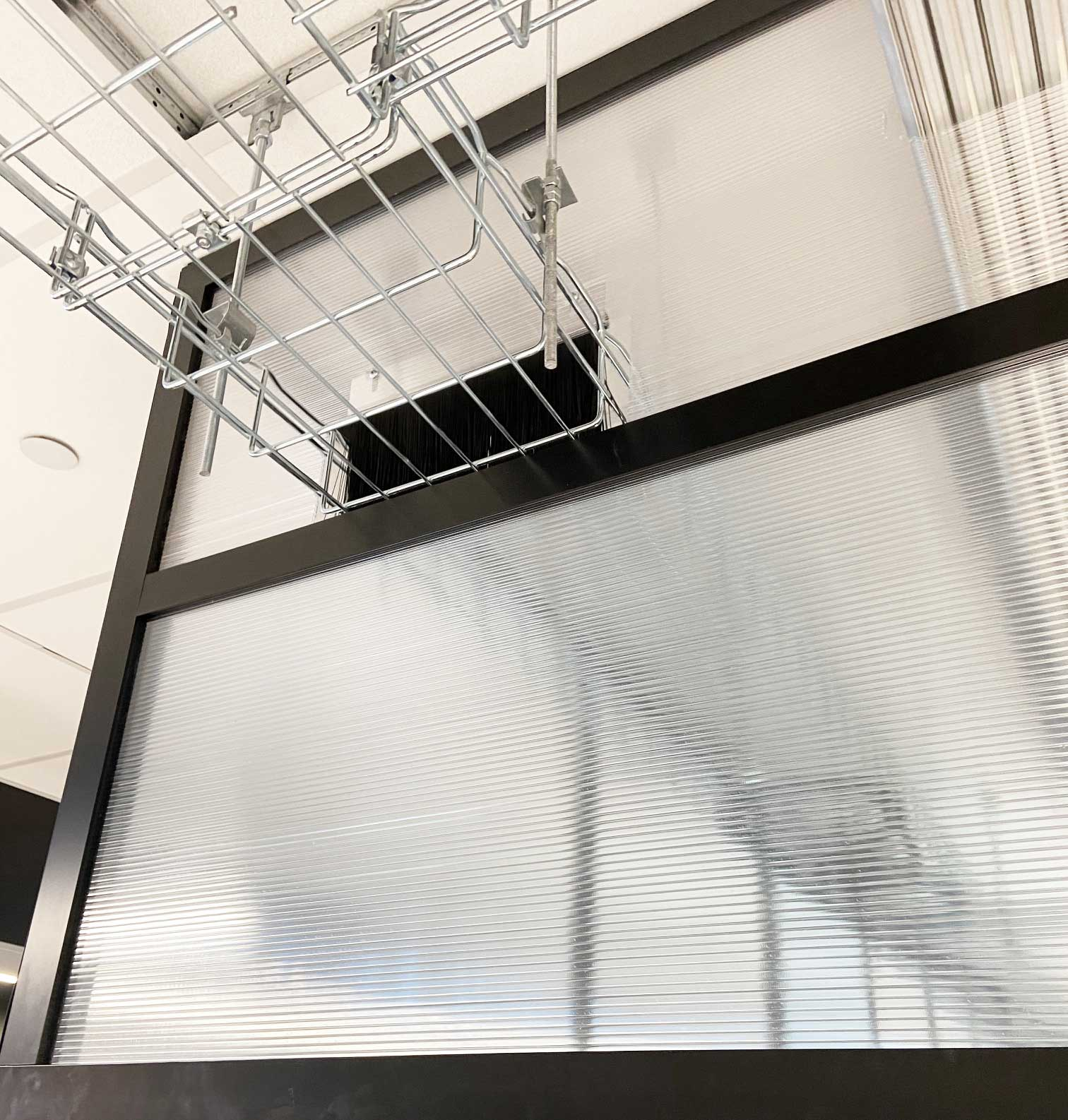 Fixed Vertical Aisle Containment Panels