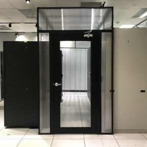 Single Hinged Aisle Containment Door