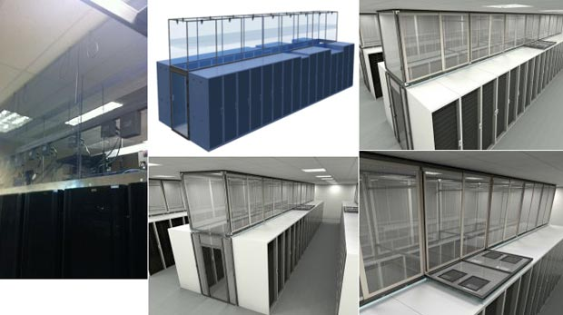 Sliding Containment Vertical Panels Image Gallery