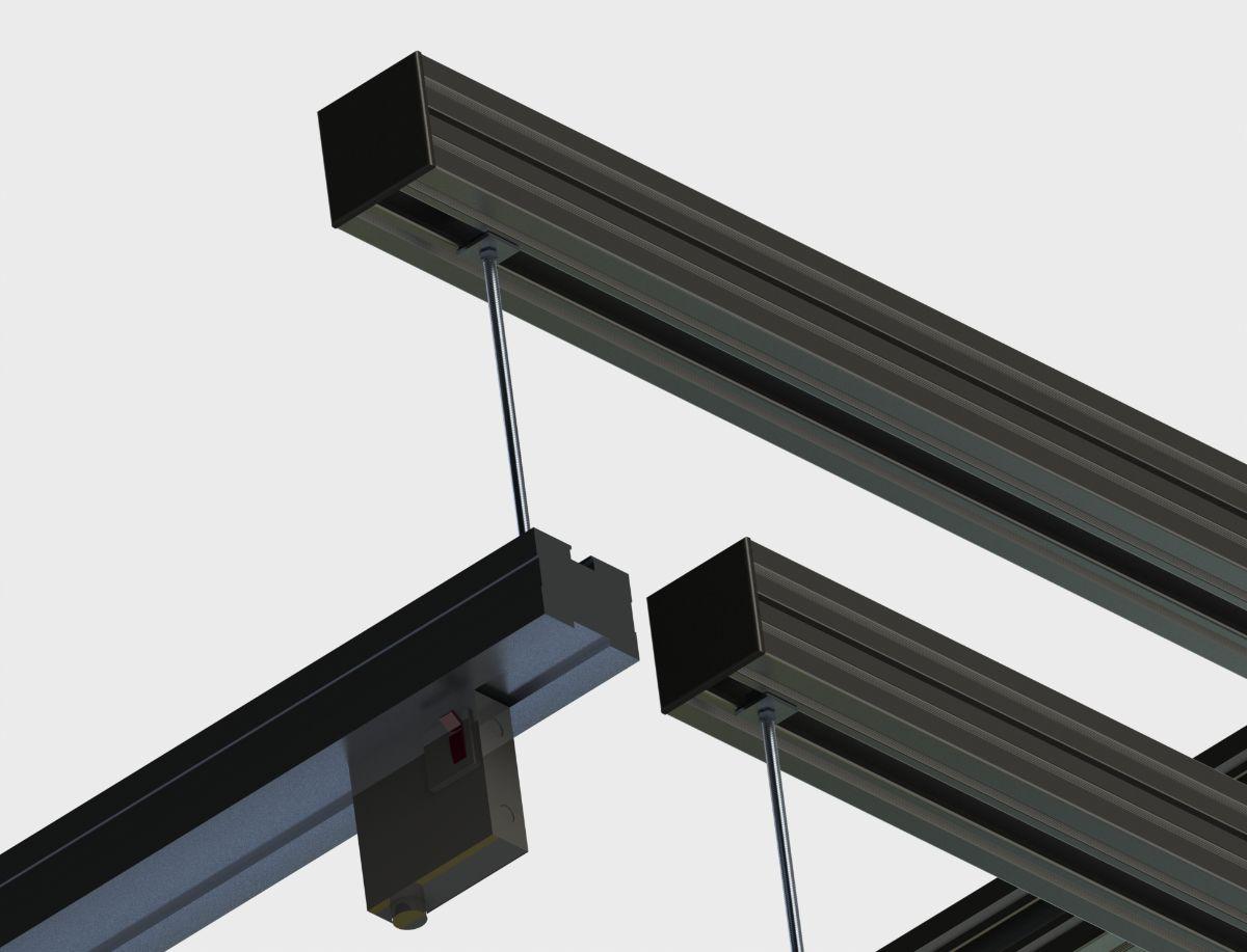 Unistrut Hanger - Cool Shield Structure