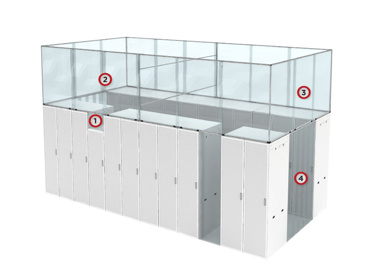 Hot Aisle Containment Systems by Cool Shield