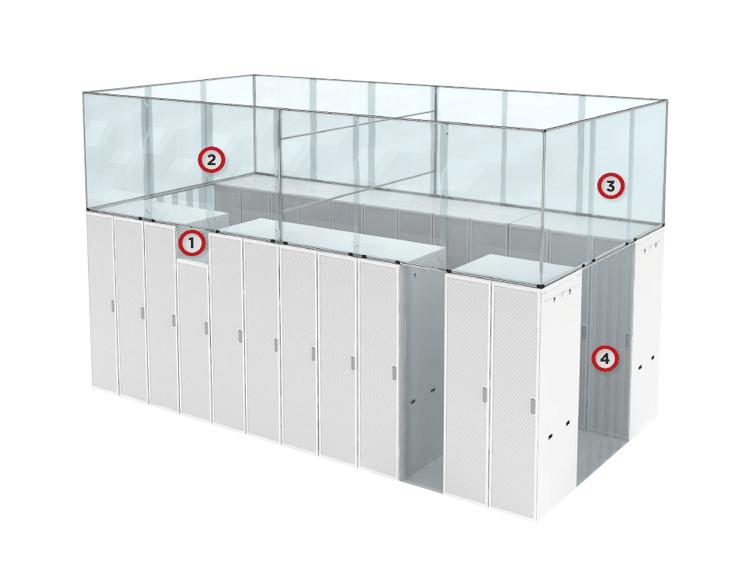Aisle Containment - Hot Aisle System