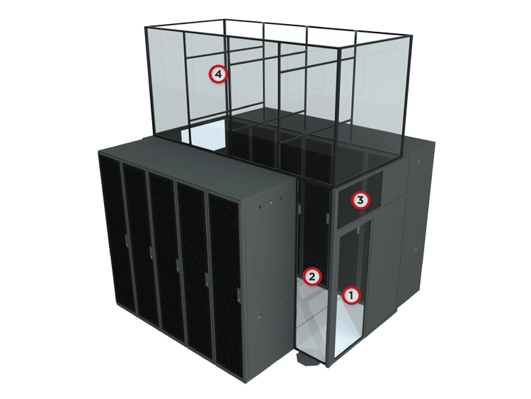 Aisle Containment - Hot / Cold Aisle System