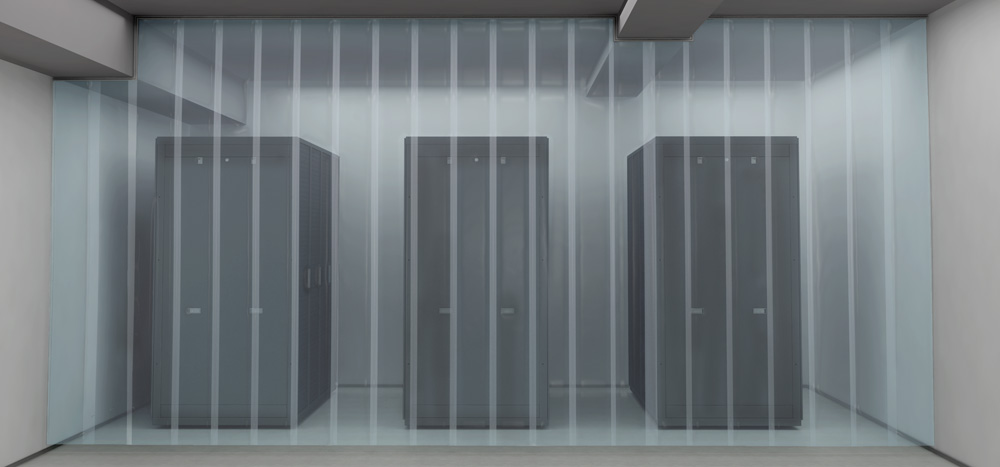 Flexible Data Center Strip Curtain Aisle Containment Walls