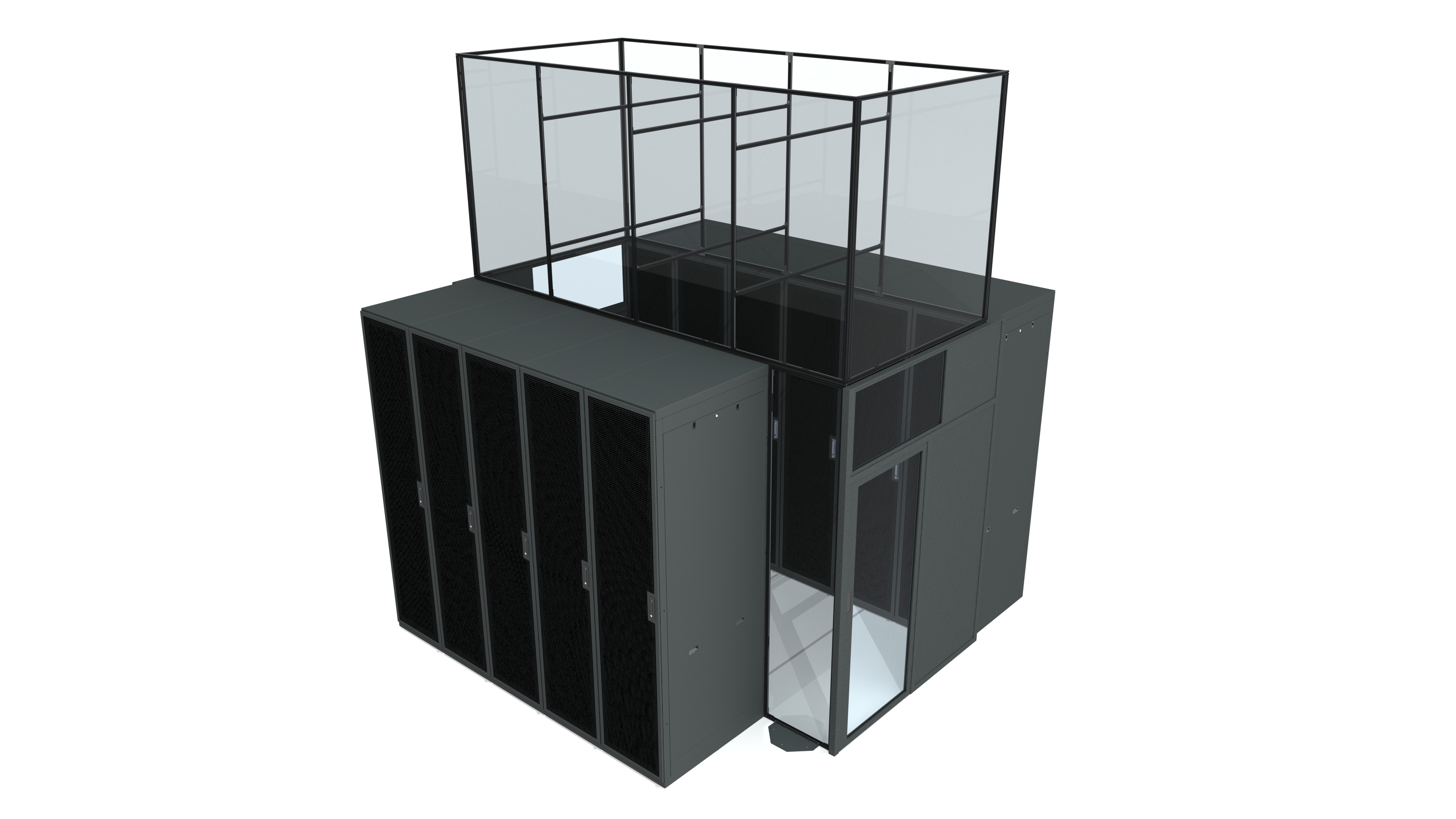 Fixed Vertical Aisle Containment Panel