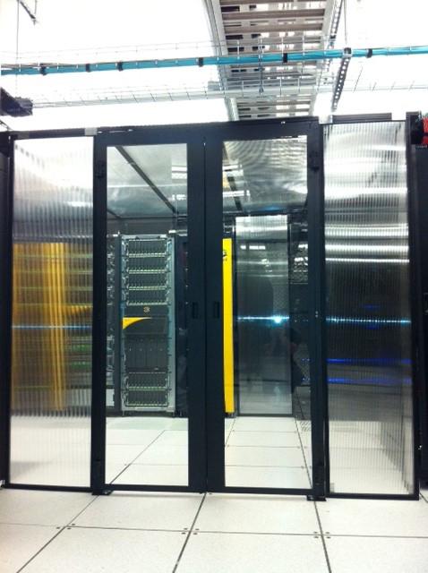 Data Center Hinged Doors : Double hinged doors cool shield
