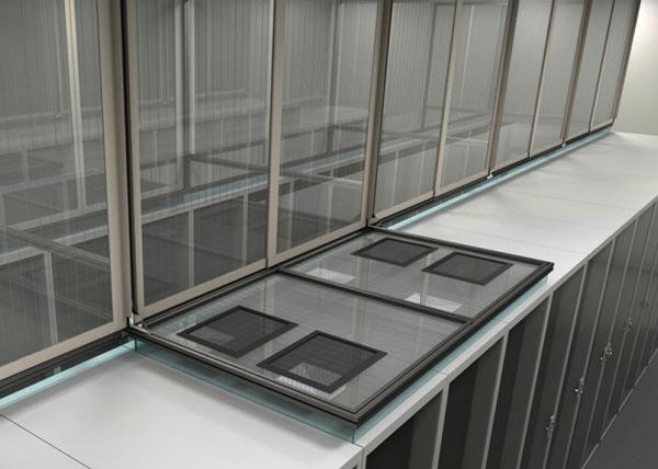 Aisle Containment - Vertical Aisle System