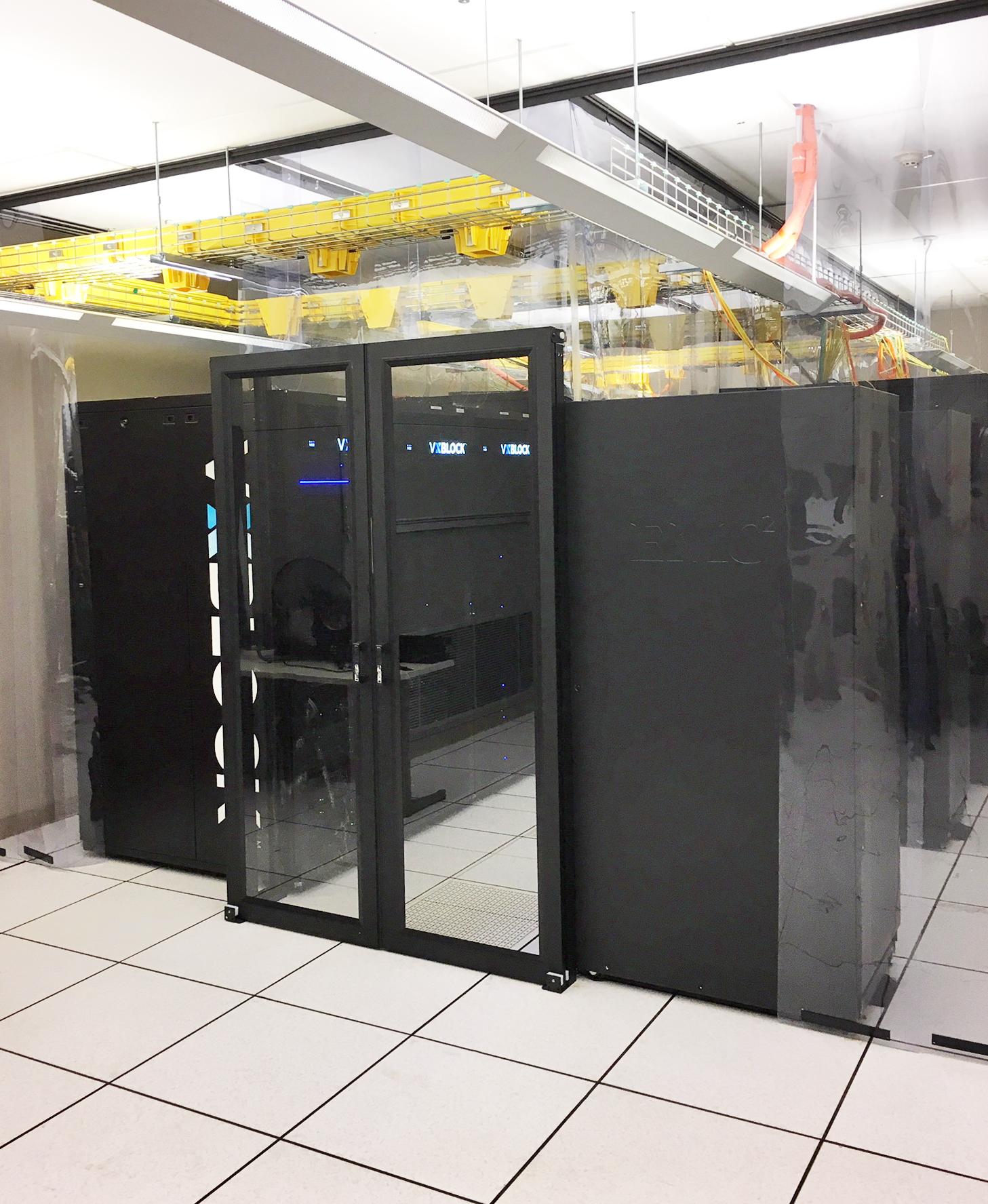 Double Sliding Doors Data Center Containment - Double Sliding Door