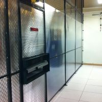 Data Center Cage with aisle containment system